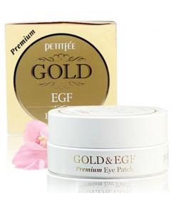 Petitfee_EGF重生金箔眼周修護凝凍膜 Premium升級版(30對)