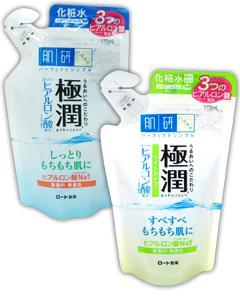 ROHTO 肌研_極潤保濕化妝水(補充包)170ml