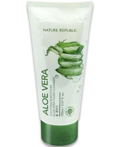 NATURE REPUBLIC_蘆薈保濕洗面乳(Foam Cleanser)**