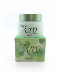 banila co._Zero皇牌白藜蘆醇卸妝凝霜 油性肌 (綠蓋) 即期良品2017.06