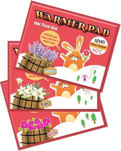 Beloved & Co._Flowery Rabbit Warmer Pad 小花兔香氛暖暖包