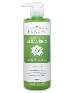 HUKUMI_京都宇治綠茶溫和卸妝凝膠400ml