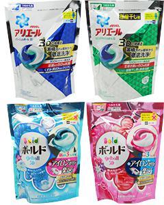 P&G_第三代3D洗衣膠球(補充包18入) #藍 缺貨