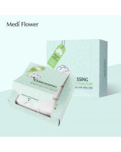medi flower_壓花化妝棉300入