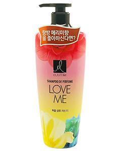 Elastine_Love Me 甜蜜愛戀香水洗髮精(紅) 600ml