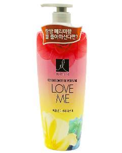 Elastine_Love Me 甜蜜愛戀香水潤髮乳(紅) 600ml