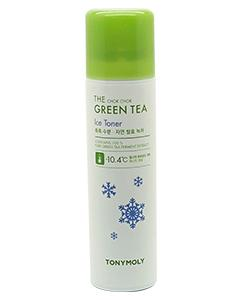 TONYMOLY_冰涼-10.4度C綠茶降溫化妝水150ml 即期良品2020.07