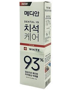 MEDIAN 麥迪安_93%強效淨白去垢牙膏(升級版)120g-#白色(淨白)