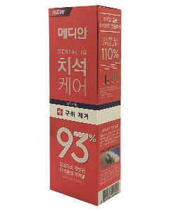 MEDIAN 麥迪安_93%強效淨白去垢牙膏(升級版)120g-#紅色(牙垢口臭)