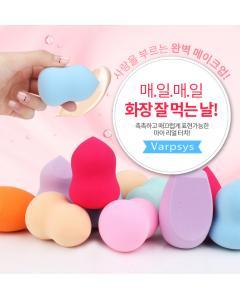 Varpsys_美妝蛋-#葫蘆斜角型 #PD-6紫/PD-2粉現貨