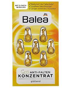 Balea_(黃)Q10抗皺緊緻保濕精華素膠囊(7粒裝)