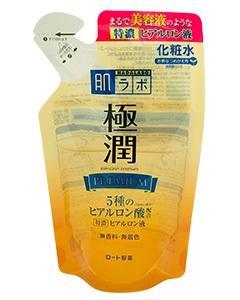 ROHTO 肌研_極潤金緻特濃保濕精華水(補充包)170ml
