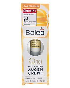 Balea_Q10膠原蛋白保濕眼霜15ml