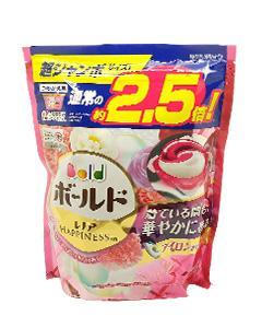 P&G_3D洗衣膠球(大補充包44顆)#粉-牡丹花香 缺貨