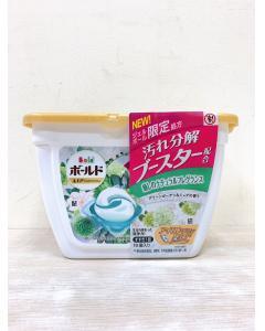 P&G_3D洗衣膠球(盒裝16顆)-#白-植物花香307g
