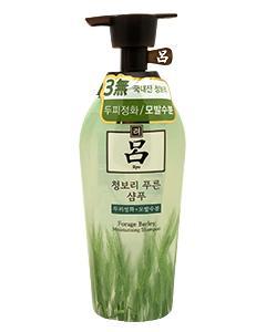 Ryo 呂_洗髮精(花草系列淺綠瓶-青麥 深層清潔)500ml