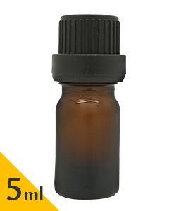 茶色玻璃空瓶(附滴塞)5ml