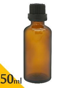 茶色玻璃空瓶(附滴塞)50ml