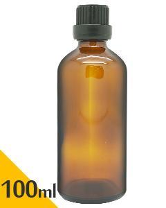 茶色玻璃空瓶(附滴塞)100ml