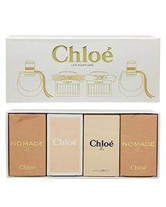 Chloe'_女性小香禮盒四入組5ml*4入(芳心之旅淡香精2入+同名淡香精+白玫瑰淡香水